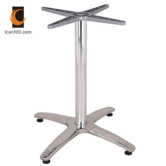 Hot Item Water Proof Modern Design Height Metal Stainless Steel Dining Table Base