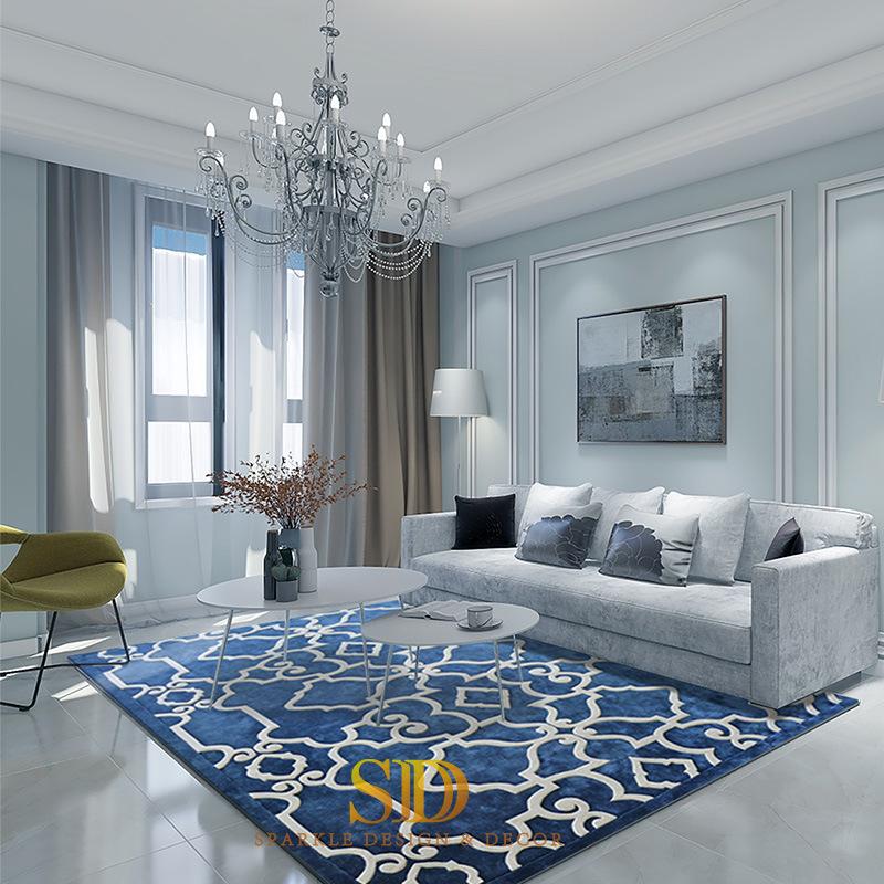 China Modern Design Geometric Style, Modern Carpet Design For Living Room
