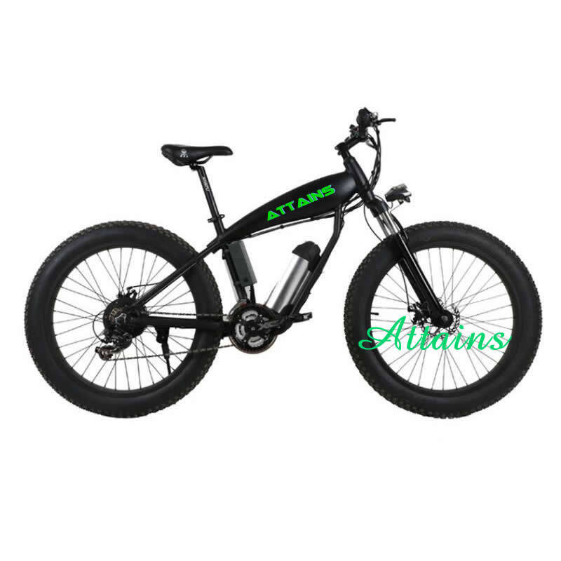 Fat Tire Snow Mountain Sand Beach Electric Bicycle