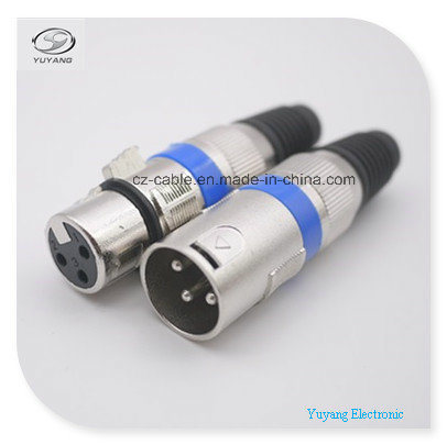 XLR, Microphone/Speaker Plug/Jack/Adappter for Audio Cable, Big Party Use pictures & photos