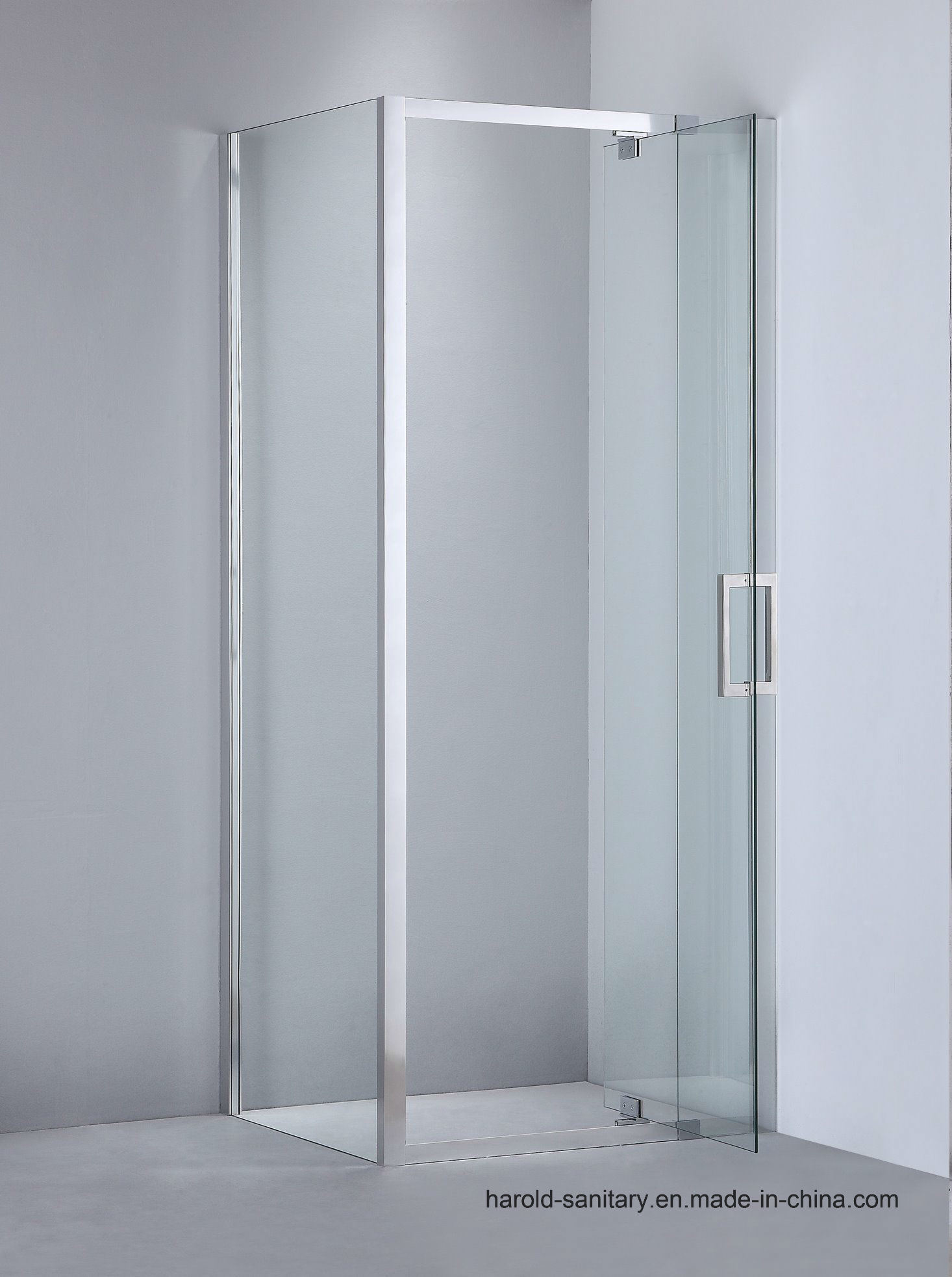 China Hr 012 D Straight Hinge Swing Extension Glass To Glass Shower