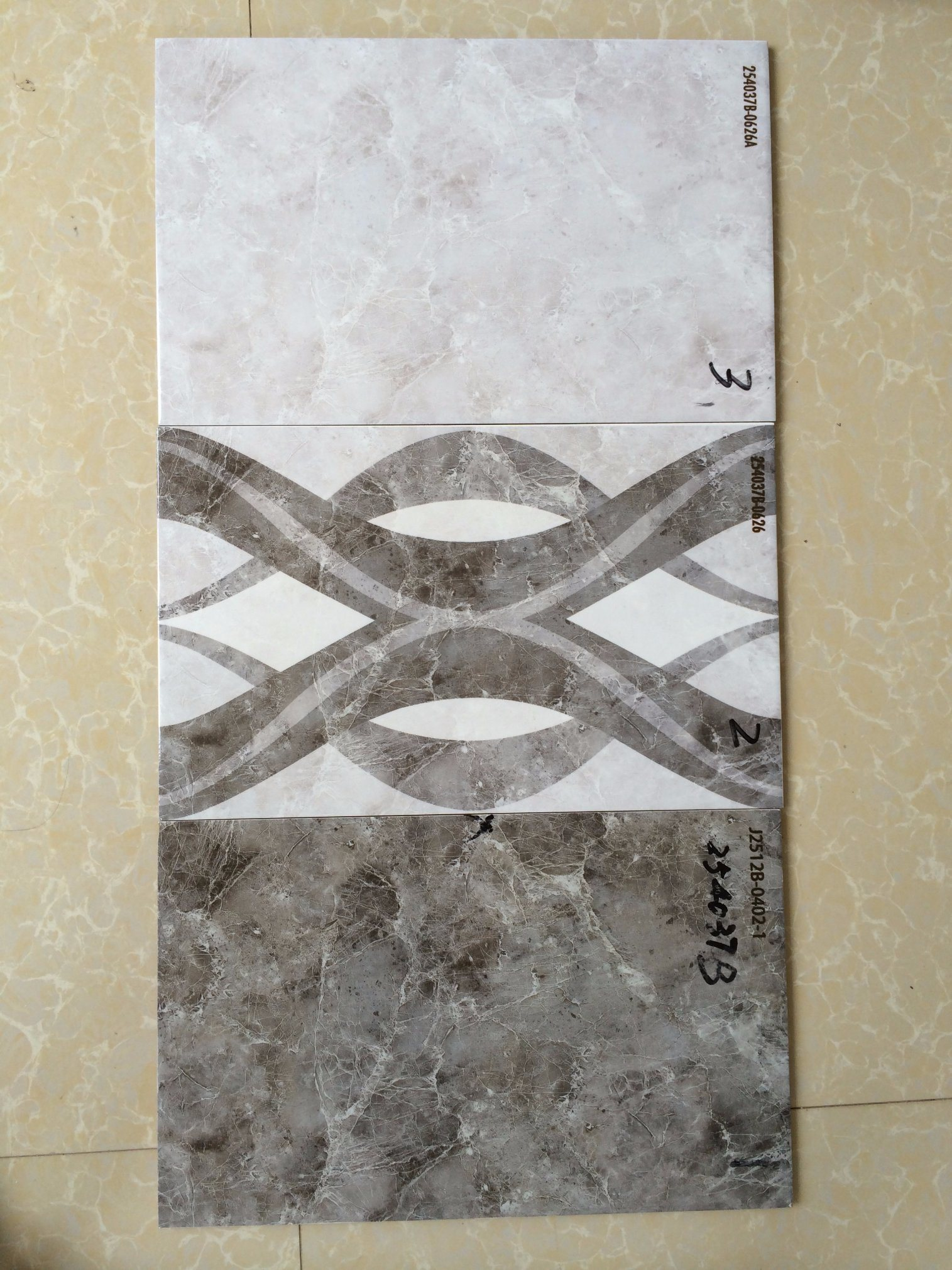 China Pakistan Bathroom Designs 3d Inkjet Glazed Ceramic Wall Tiles