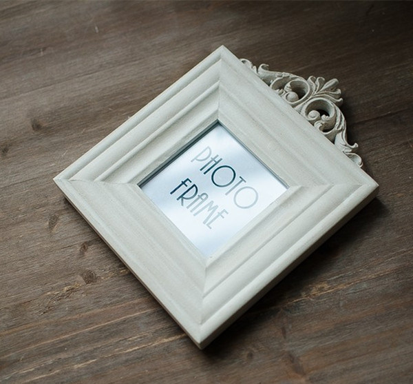 Solid Wood Frame Wooden Swing Sets 3/5/6/7-Inch Photo Frame