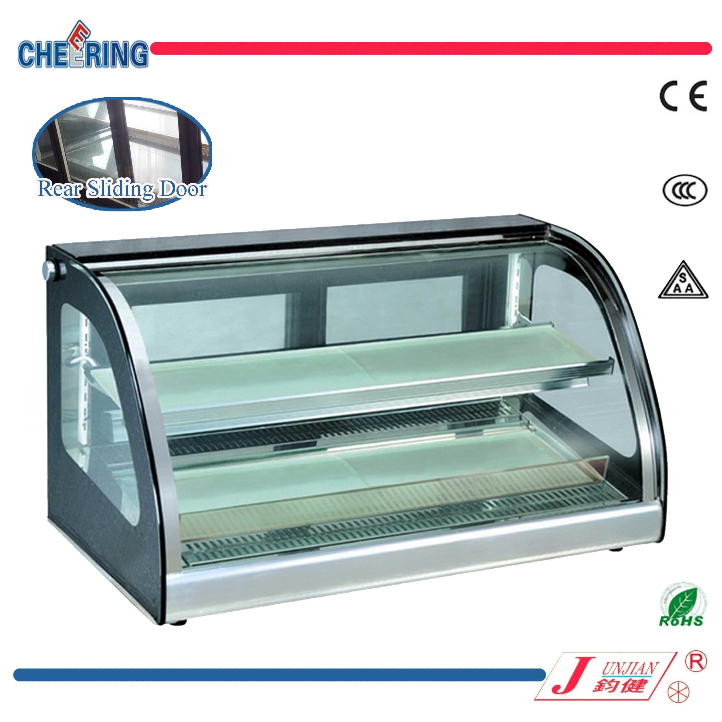 cu turbo ft equipment tgf freezer case merchandising display door countertop n countertops bakery air glass