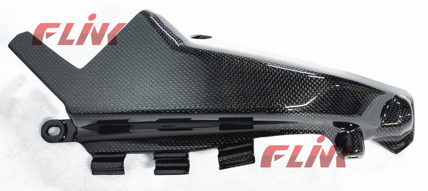 China Motorcycle Carbon Fiber Parts Radiator Side Cover Dms06 For