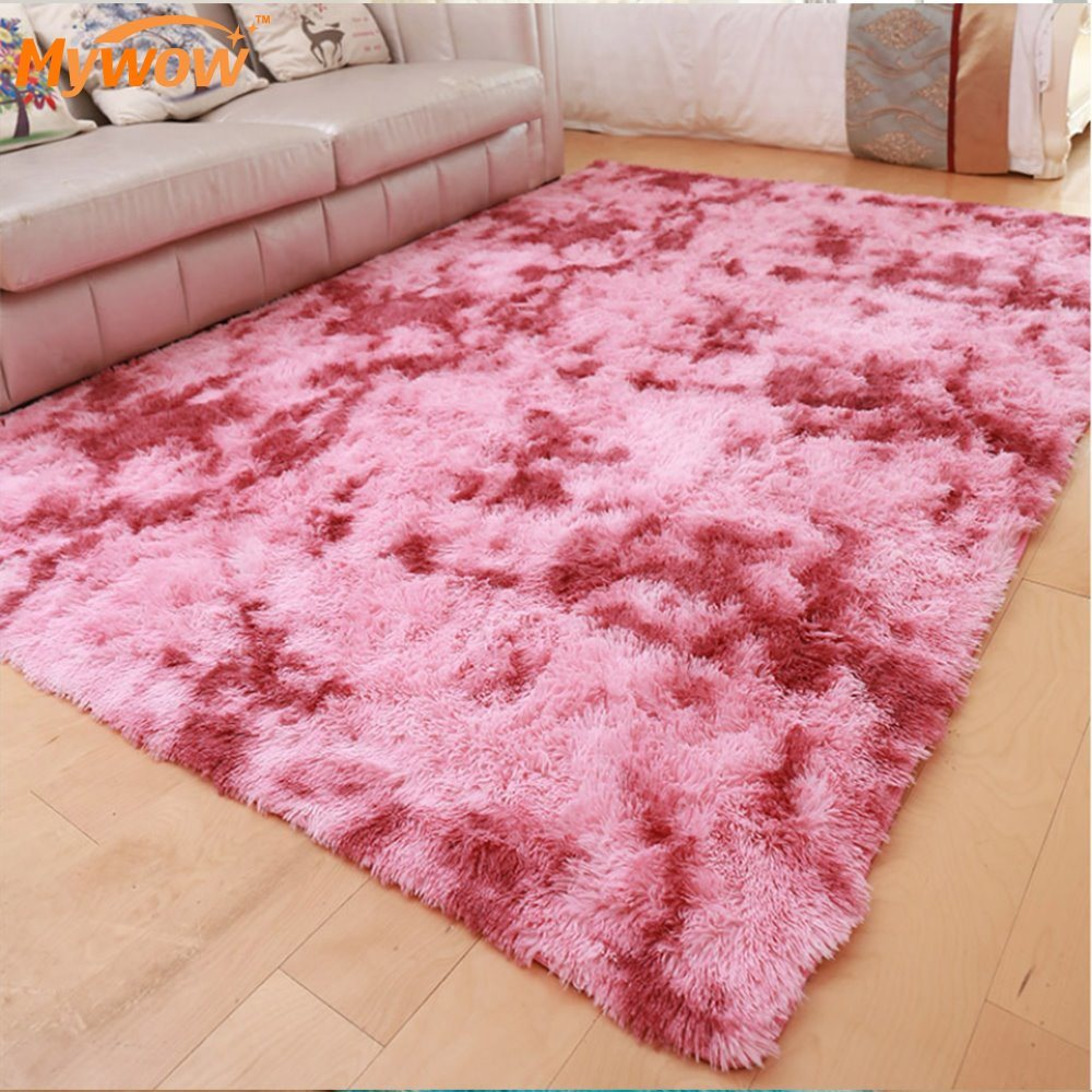Sound Absorb Faux Wool Fur Area Rugs