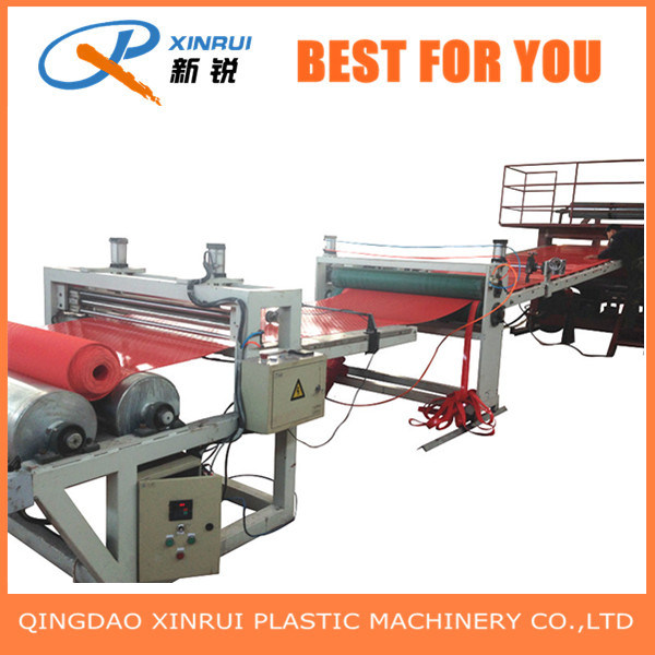 PVC Hollow Chain-Shaped Mat Carpet Extrusion Making Machine