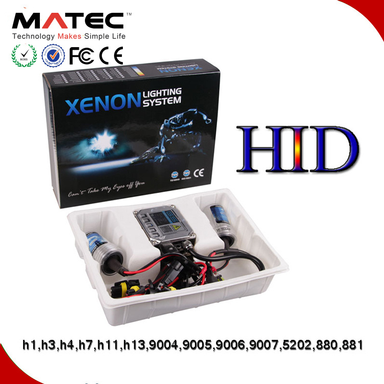 Factory Price Slim Ballast 12V 55W 6000k HID Headlight 9004 Motorcycle HID Projector Headlights Price pictures & photos