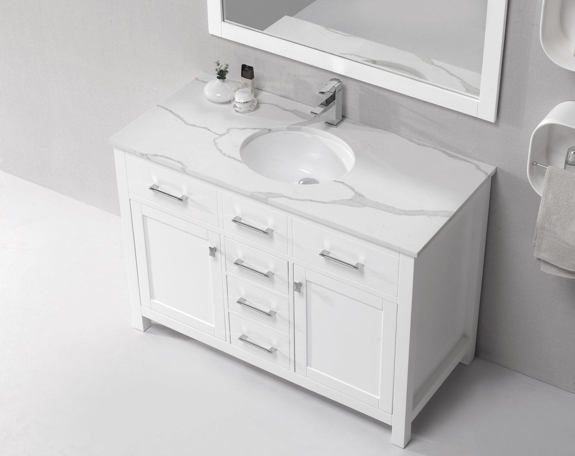 Stone Cabinet Bathroom Hand Wash Basin