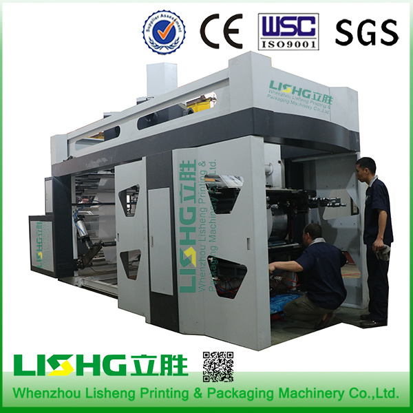 6 Colour High Speed Ci Flexo Printing Machine pictures & photos