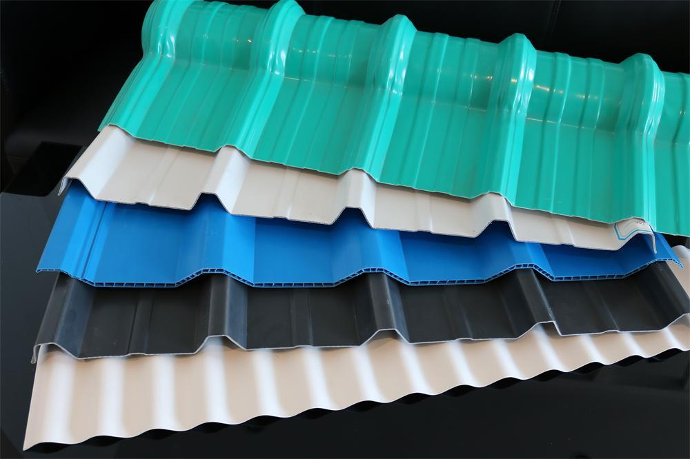 Color Coated Plastic Corrugated Heat Resistant PVC Roofing Sheet pictures & photos