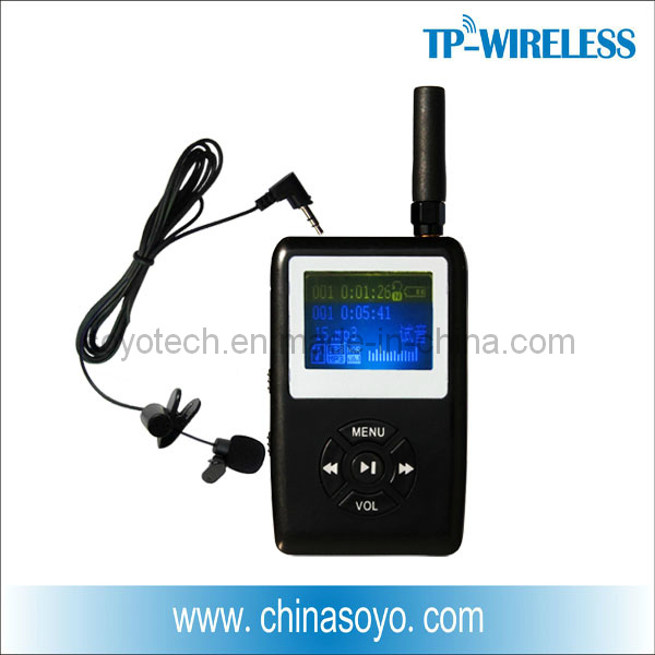 RF Wireless Lapel Microphones for Teacher