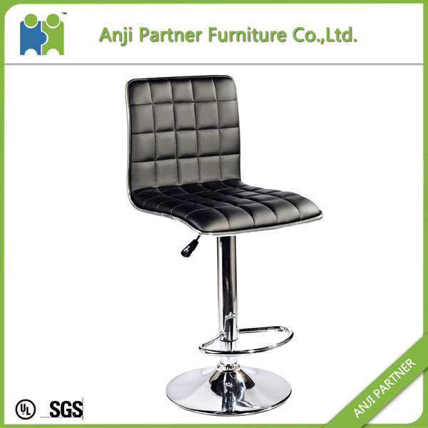 Low Price Modern Comfortable Synthetic Leather Adjustable Bar Stool (Soudelor) pictures & photos