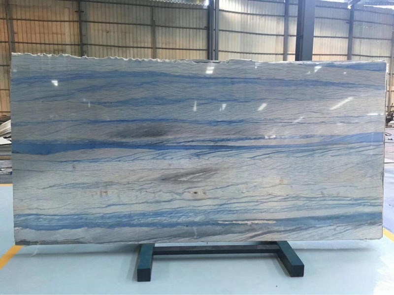 Blue Marble Slabs For Home Decoration