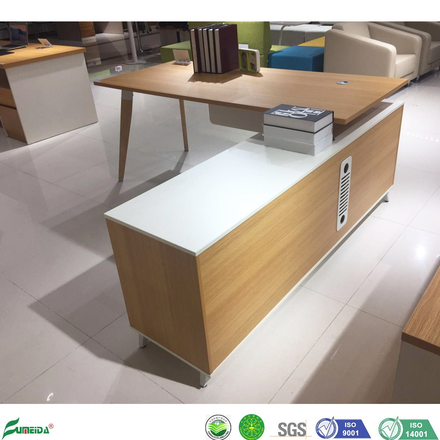 Wooden Office Furniture Standing Table