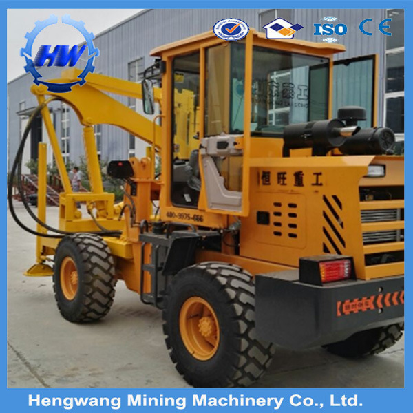 Excavator Mounted Hydraulic Sheet Pile Driver Vibro Hammer for Metal Pile