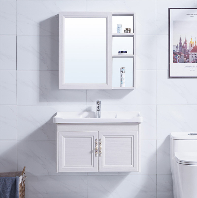 China Nordic Style Bathroom Shelves And Storage Modern Wall Hung Bathroom Vanity Unit Cabinets China Bathroom Cabinets Bathroom Sets