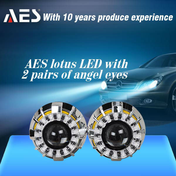 China Fashion Design Auto Headlight Hid Bi Xenon Projector Lens Kit H4 H7 China Bi Xenon Projector Lens New Product