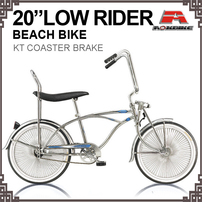 China 20 Inch Chrome Color Lowrider Bike (ARS-2012S-3) - China Beach ...