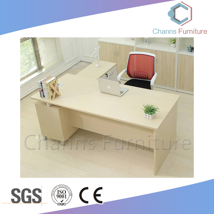 China Foshan High End White Popular Desk Manager Table Office Furniture Cas Md1864
