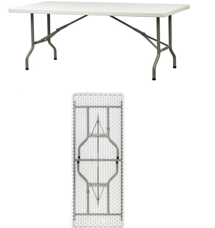 6FT Below-Molding Rectangle Folding Table (YCZ-183C)