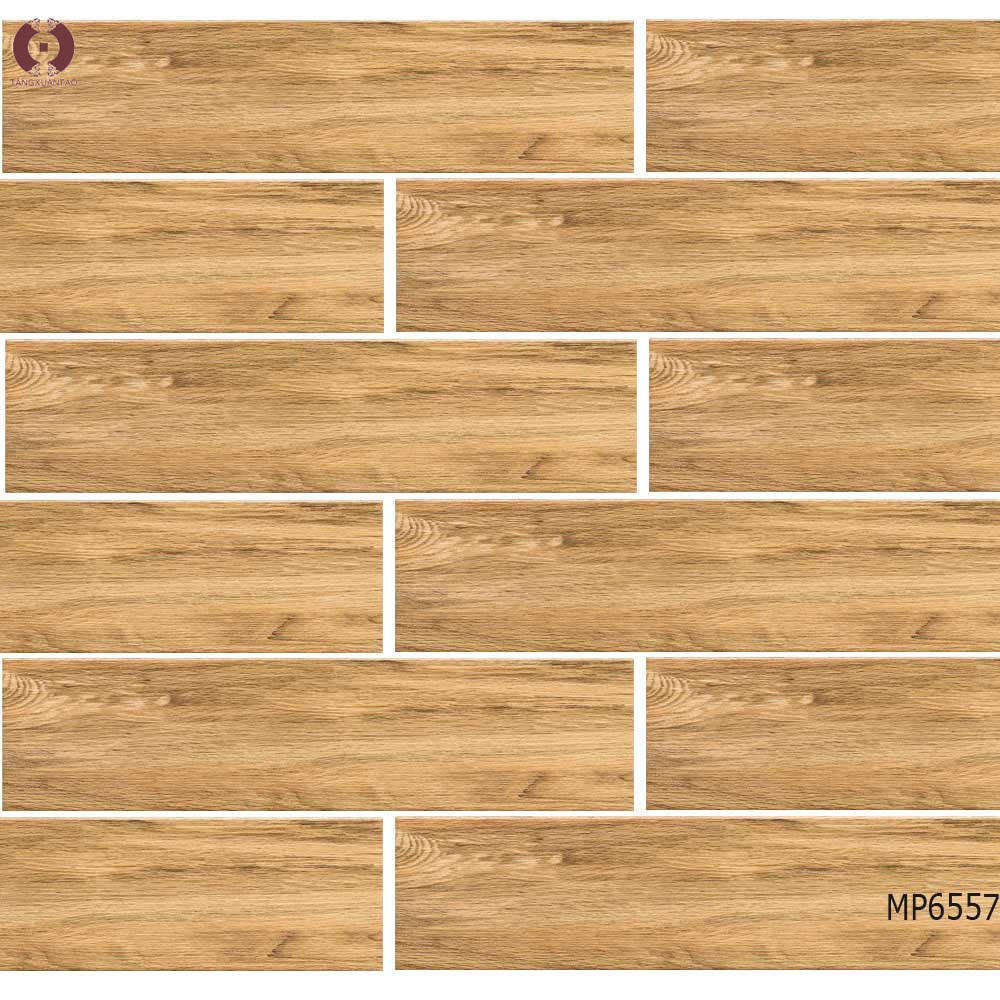 China High Quality Ceramic Tiles Wooden Grain Flooring Mp6557