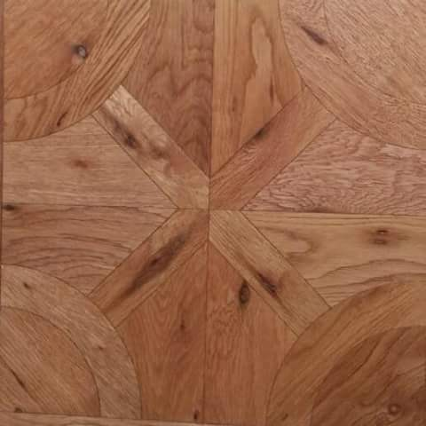 China Hot Sale American Oak Brushedrustic Parquet Engineered Wood