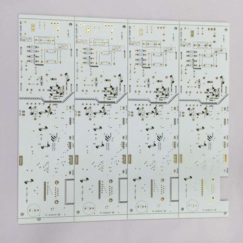 China Taiyo White PCB Board/94V-0 with PCB Mark - China Double ...
