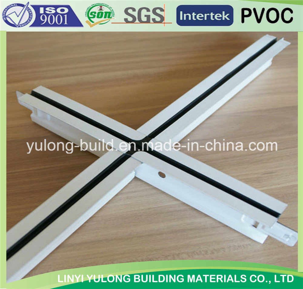 Gypsum Ceiling T Grid/T Bar with Factory Price