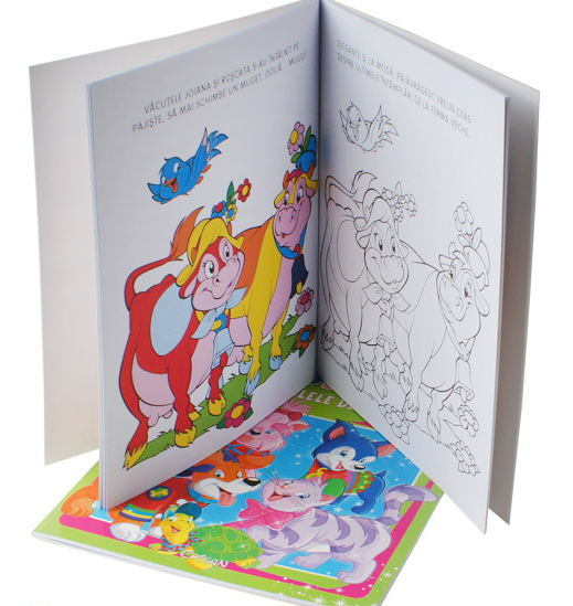 China Paper Printing Services Kid Coloring Book - China Book ...