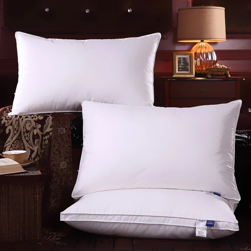 Sateen Piping Microfiber Filling Pillow