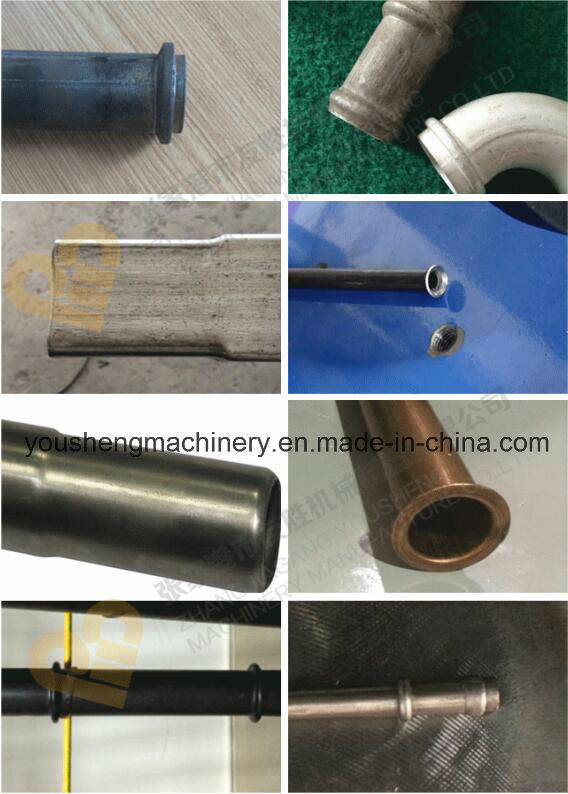 CNC Auto Feeding Tube End Forming Machine Sg-60CNC pictures & photos