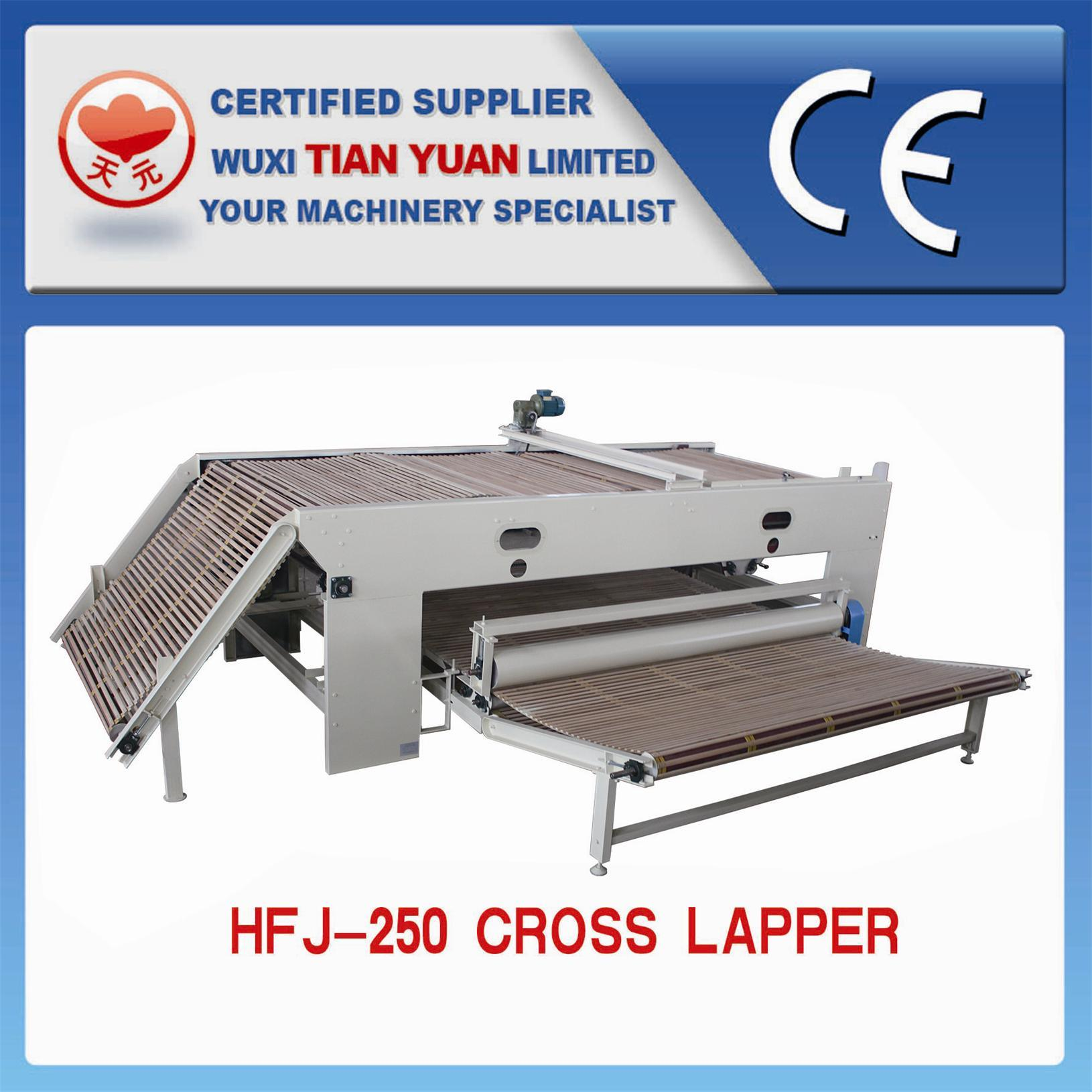 Needle Punched Nonwoven Geotextile Cross Lapper Machine