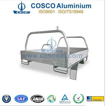 Cosco Extruded Aluminum/Aluminium Tray Body for Trucks pictures & photos