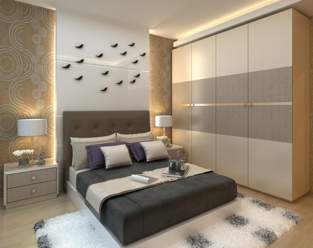 China Modern Design Bedroom Furniture Wardrobe With Sliding Door Photos Pictures Made In China Com