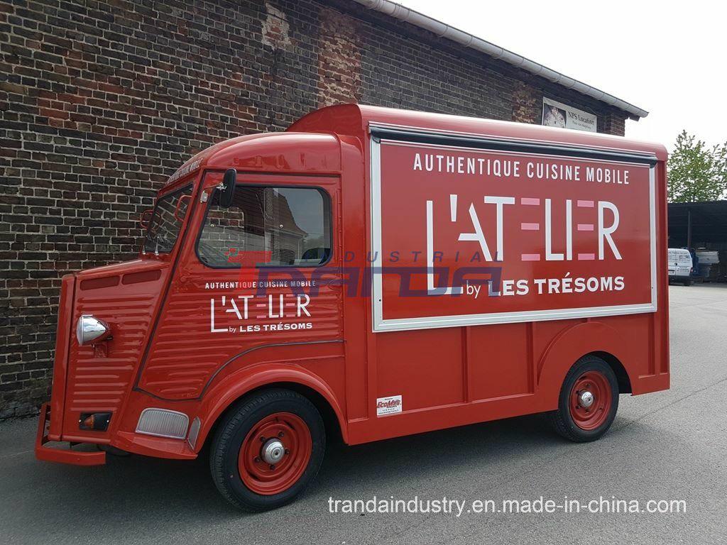 China Tranda Professional Food Cart And Kiosk Uk Citroen 1969 Hy Van Vintage Mobile Electric Truck