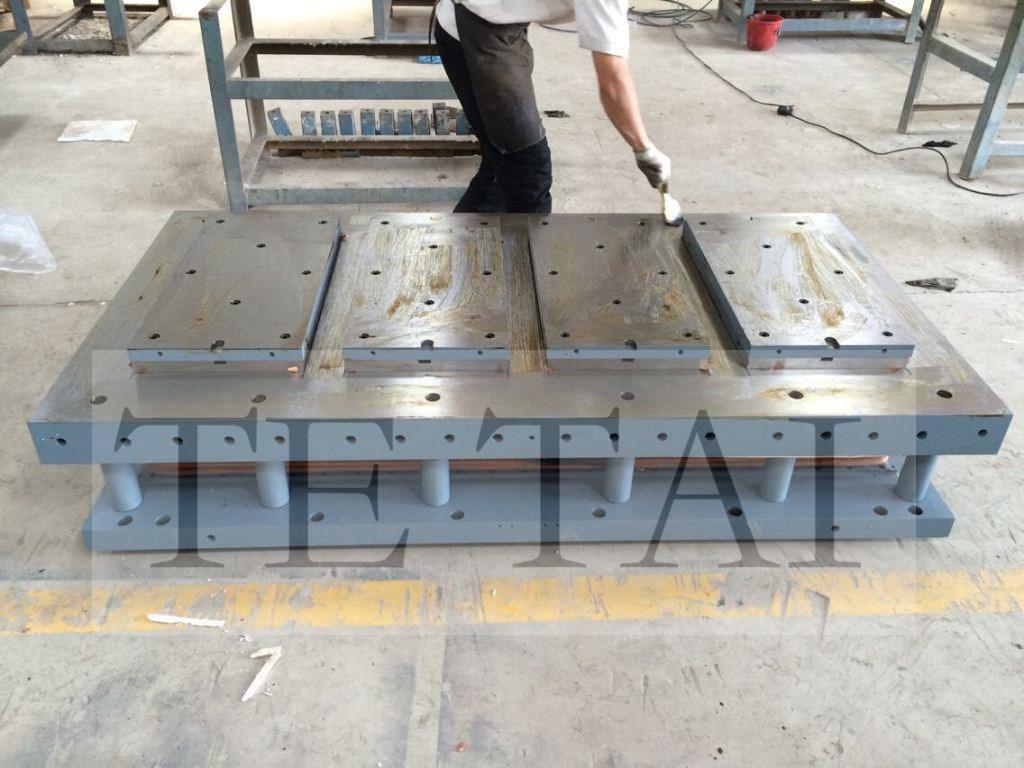 China Hight Quality Ceramic Tile Mould For Sacmi Pressing Machine