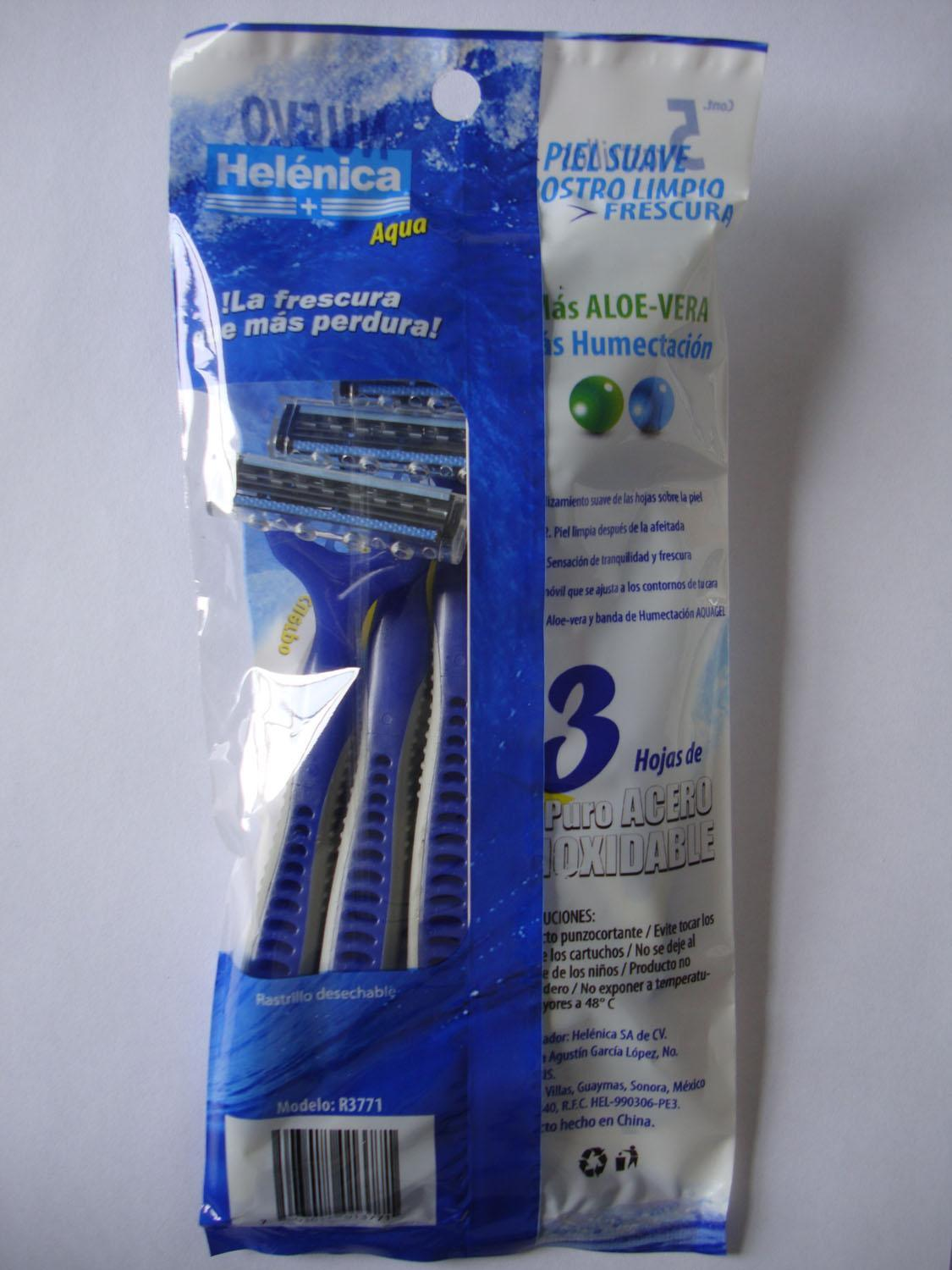 Personna Triple Blade Disposable Razor (KD-P3009L Blue)