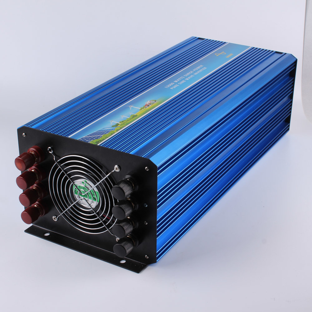 off Grid 6000W DC to AC Power Supply Solar Inverter