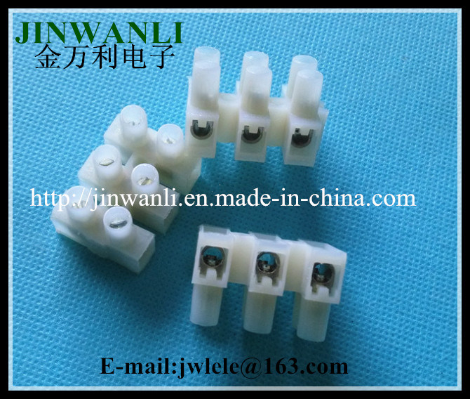 China Wire Block Connector Terminal 2 to 12-Position Barrier 10 a ...