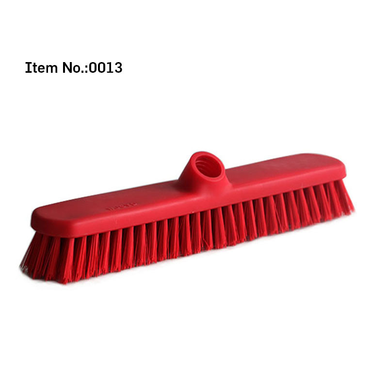 Red Color Bristle Hard Floor Brush