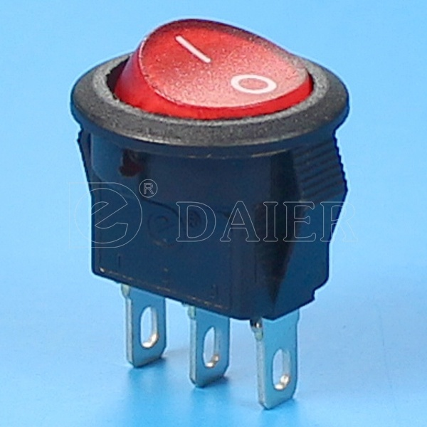 Red Illuminated on off CQC Rocker Switch pictures & photos