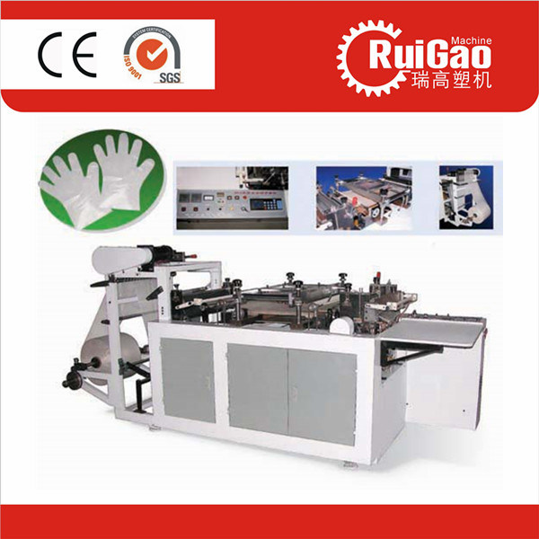 High Speed Plastic Disposable Golves Making Machine Price pictures & photos