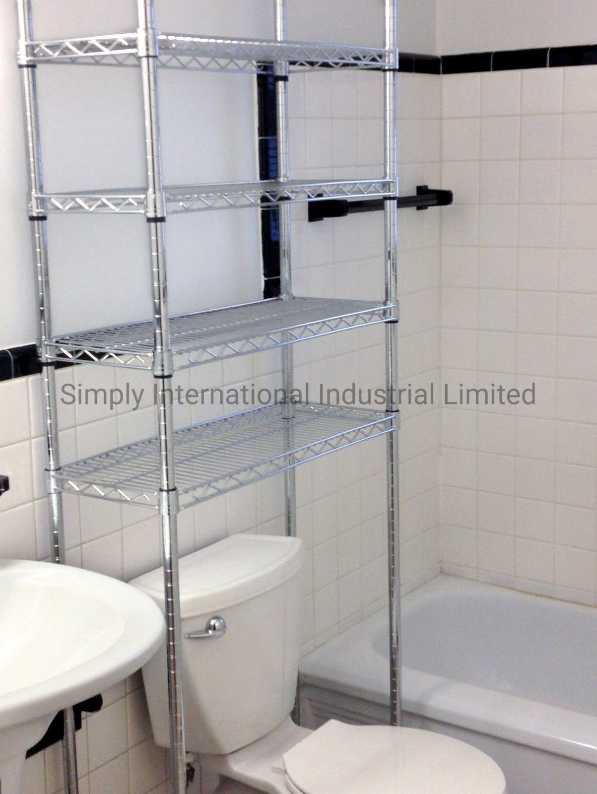 Cosmetic Storage Bathroom Toilet Rack