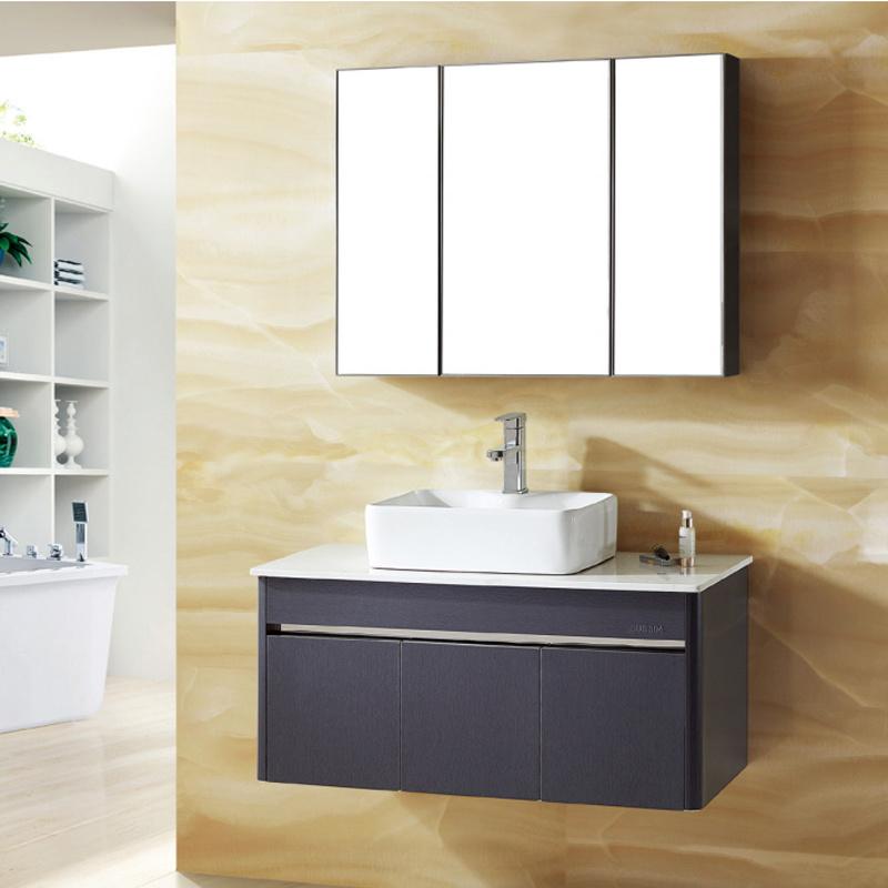 China Luolin Bathroom Cabinet Sus304 Vanity Multipurpose Combo W