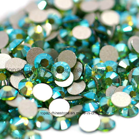 Silver Foil Crystal Stone Flatback Rhinestone for Nail Art Decoration (FB- ss16 perodit ab) 0cab855a21e7