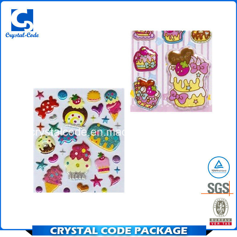 China million kinds color of custom puffy labels stickers china puffy stickers puffy labels