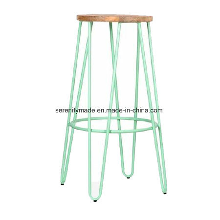 Astonishing Hot Item Wholesale Industrial Stackable Hairpin Style Scandi Bar Stool For Counter Bralicious Painted Fabric Chair Ideas Braliciousco