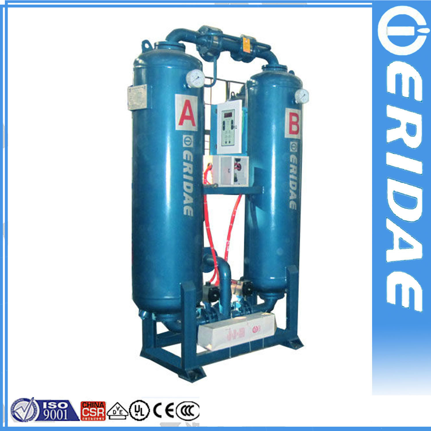 Air Dryer For Air Compressor >> China Hot Selling Heatless Desiccant Adsorption Air Dryer For Air