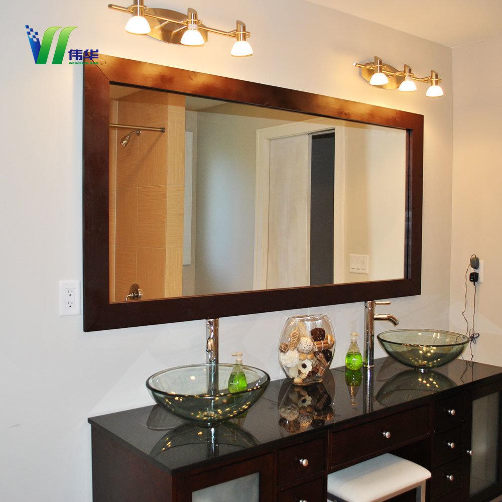 Home Goods Bedroom Full Length Wall Modern White Silver Dressing Mirror